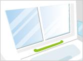 窓やサッシの修理、交換