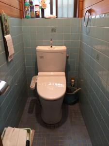Y様邸 洋式トイレ交換工事