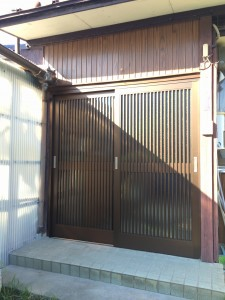 M様邸 玄関引き戸工事
