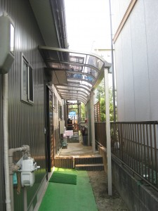 K様邸 玄関前テラス工事