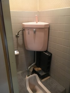 A様 トイレタンク交換工事